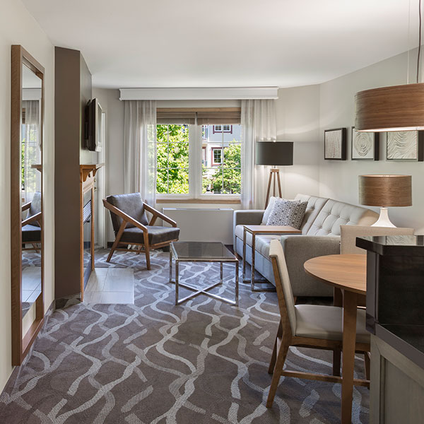 One Bedroom Suite With 2 Double Beds