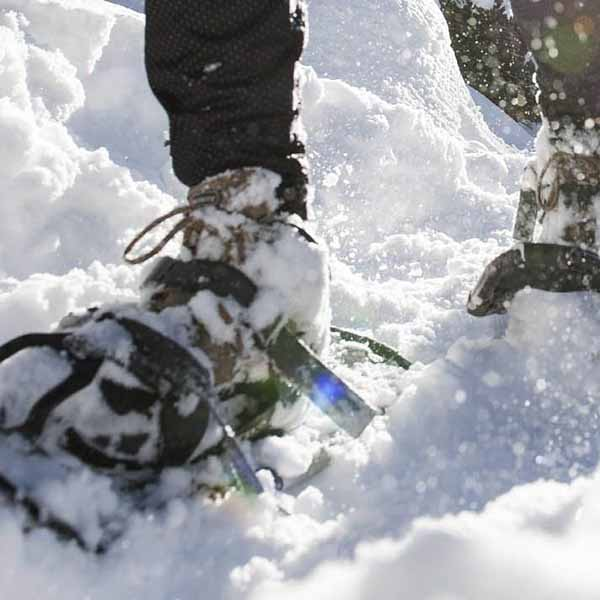 snowshoeing-in-Mont Tremblant